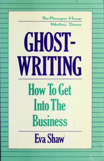 Cover of: Ghostwriting | Eva Shaw