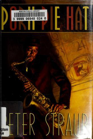 Cover of: Pork pie hat   Peter Straub