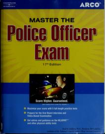 Cover of: Master the police officer exam   Fred M. Rafilson